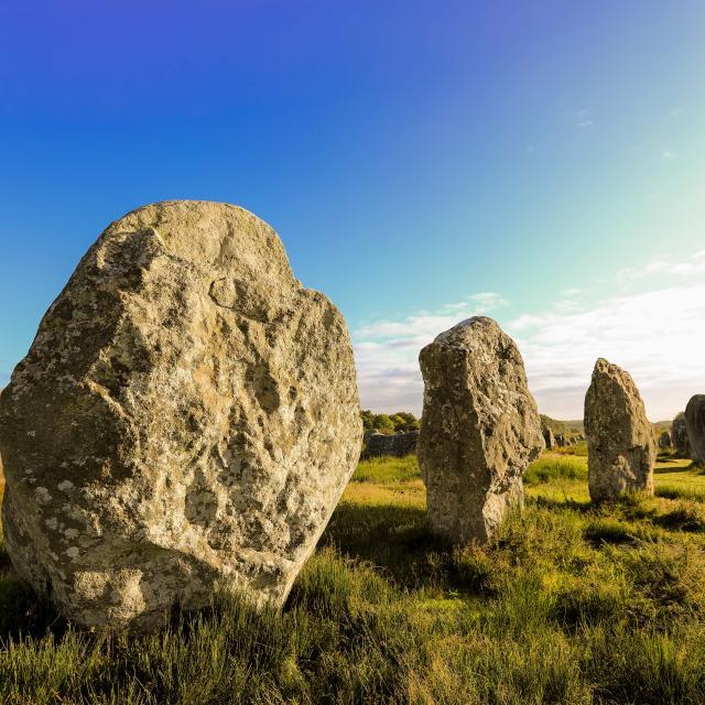 Carnac alignement de Menhirs
