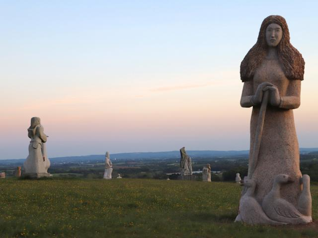 Vallee des Saints à Carnoët