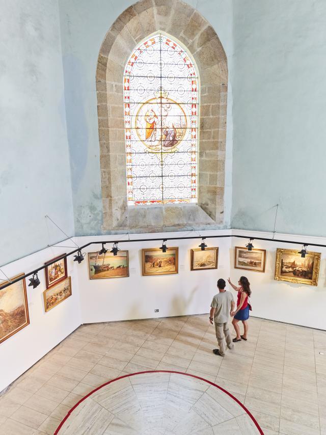 Visite du musee au Faouet