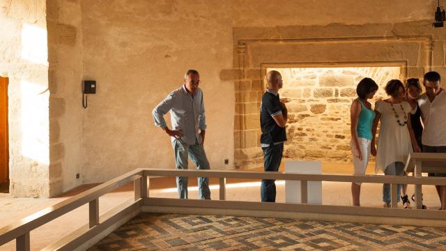 visite de groupe au chateau de Suscinio