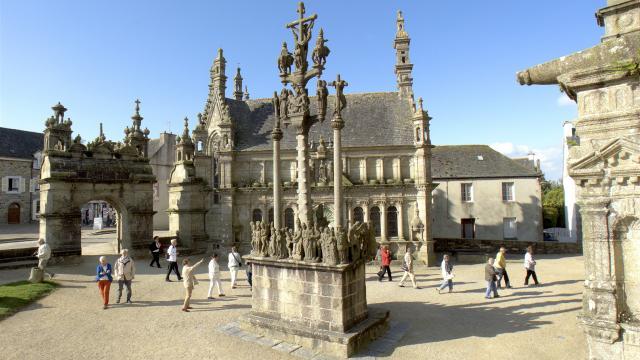 Eglise paroissiale de Saint-Thegonnec.