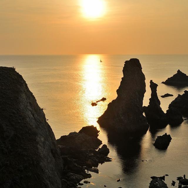 Bangor, coucher de soleil