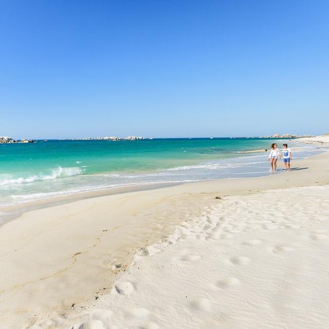 Balade sur la plage de Kerlouan